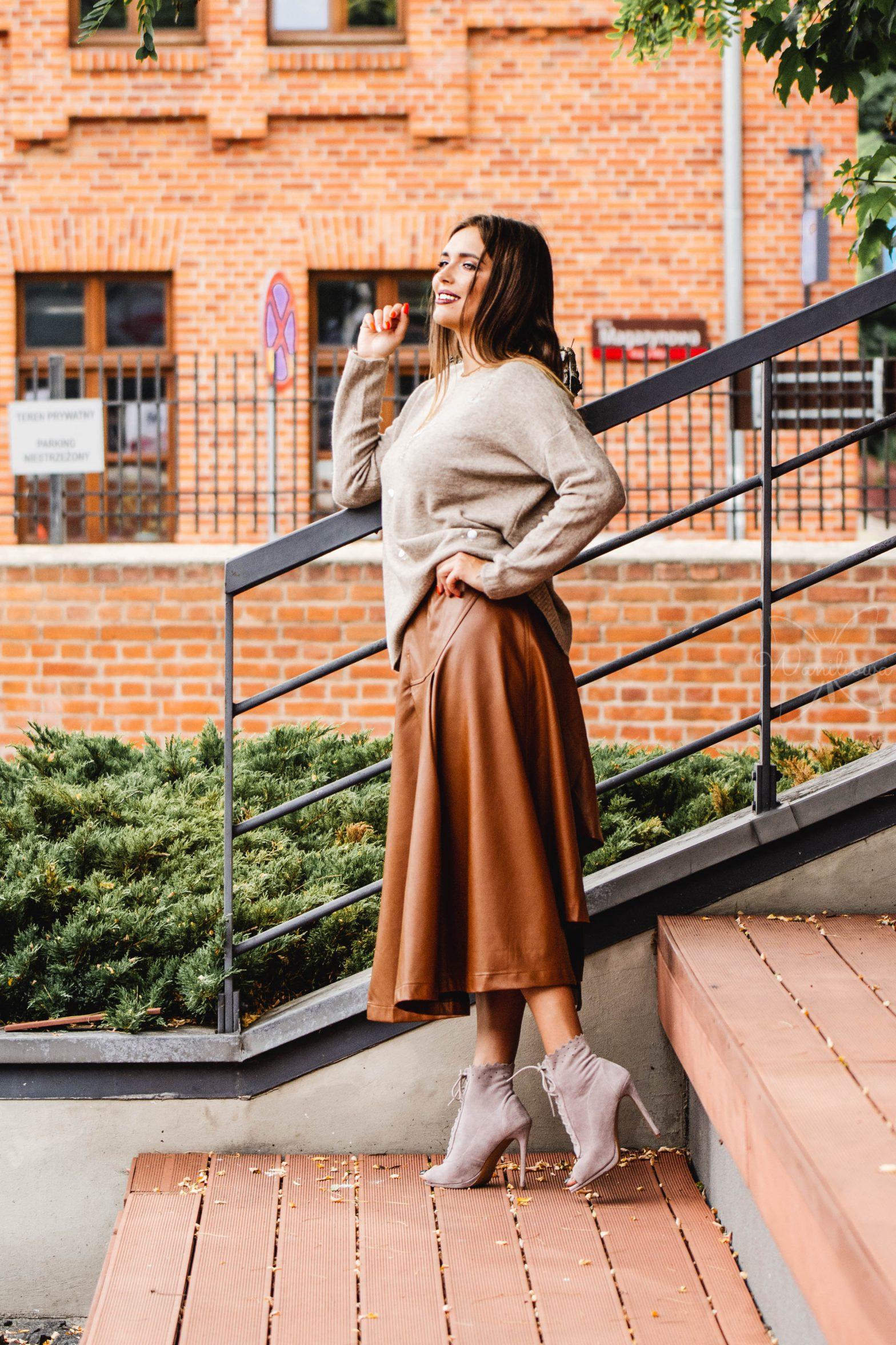 Odważny styl - skórzane spódnice i spodnie